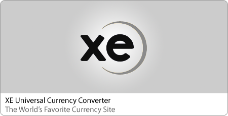 XE Universal Currency Converter